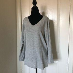 Long V Neck Sweater